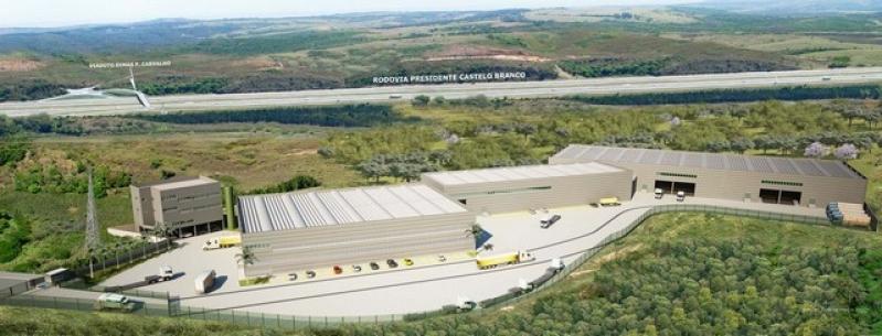 Condomínio Logístico para Varejo Empresa Que Faz Jandira - Condomínio Logístico para Transportadora