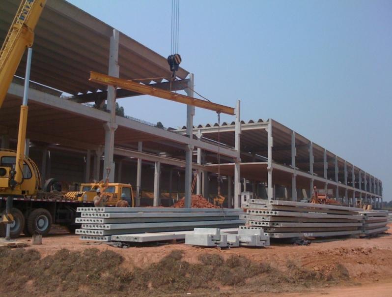 Distribuidor de Estrutura Pré Moldada em Concreto Embu - Estrutura Pré Moldada Concreto Armado