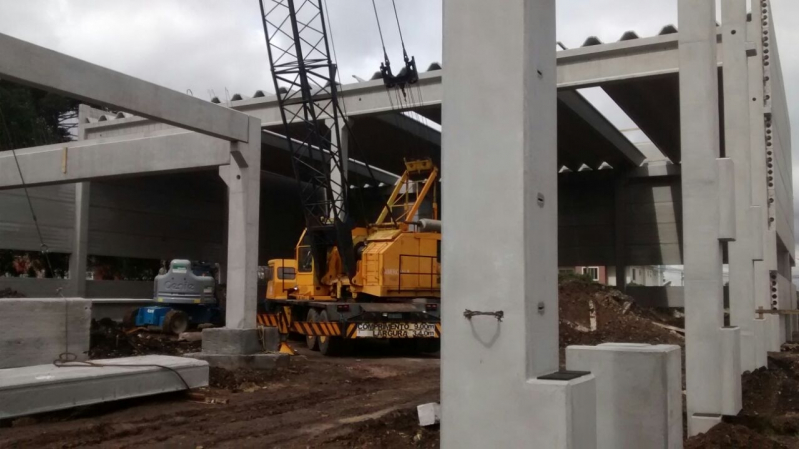Empresa de Estrutura Pré Moldada em Concreto Alphaville Industrial - Estrutura Pré Moldada em Concreto
