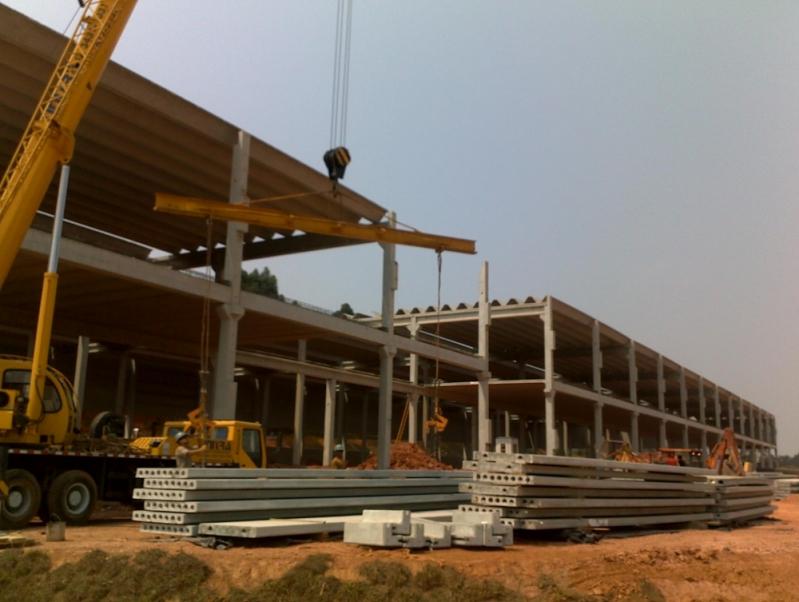 Estrutura Pré Fabricada Preço Itajaí - Pré Fabricados de Concreto