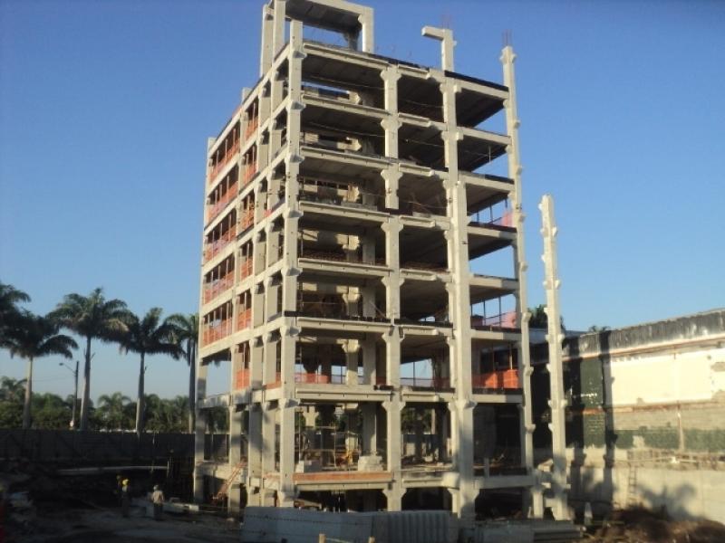 Estrutura Pré Moldada Concreto Armado Criciúma - Estrutura Pré Moldada Galpão Industrial