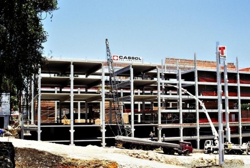 Estrutura Pré Moldada Galpão Industrial Lages - Estruturas Pré Moldadas de Concreto Armado