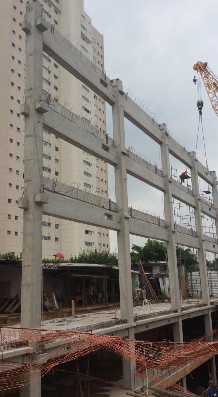 Onde Acho Fabrica de Galpões Pré Fabricados Jaguariúna - Estrutura Pré Fabricada em Concreto