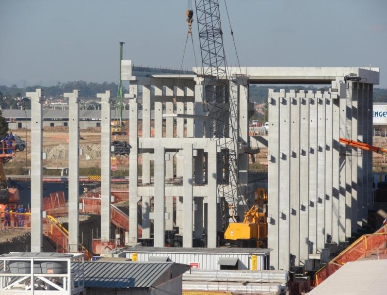 Onde Encontro Fabrica de Galpões Pré Fabricados Embu - Estrutura Pré Fabricada em Concreto