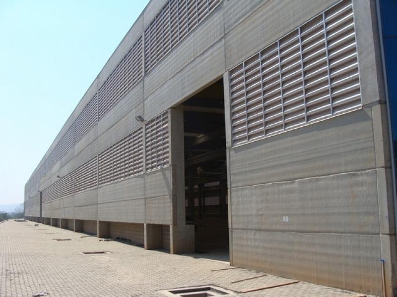 Preços de Galpão Industrial Pré Moldado São Paulo - Galpão de Concreto Pré Moldado