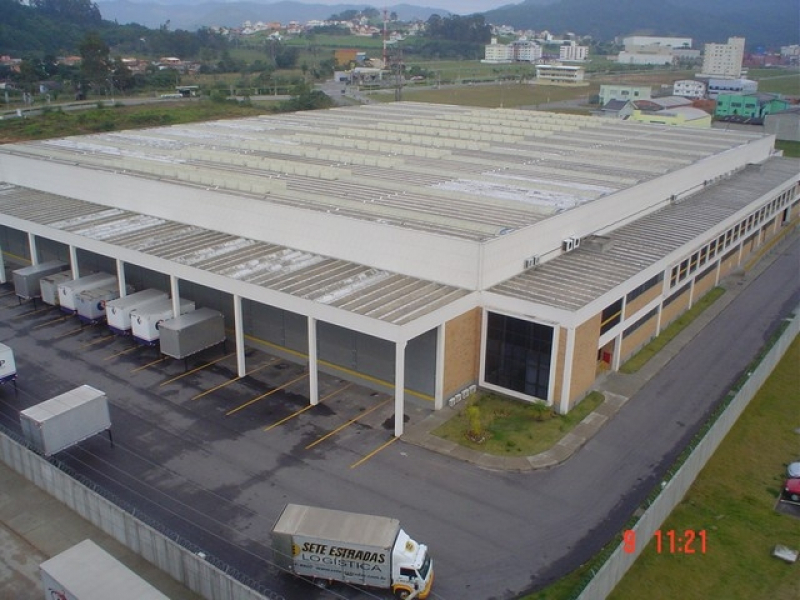 Quanto Custa um Condomínio Logístico para Varejo Criciúma - Condomínio Logístico para Transportadora
