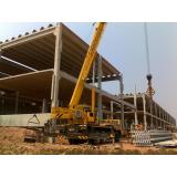 distribuidor de estrutura pré moldada concreto armado galpão Americana