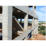 distribuidor de estrutura pré moldada galpão industrial Santos