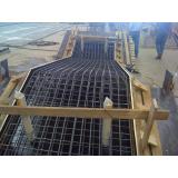 estrutura pré fabricada de metal Valinhos