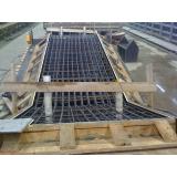 estrutura pré fabricada de metal