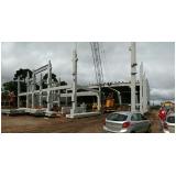 estrutura pré fabricada para indústria orçamento Vinhedo