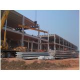 estrutura pré fabricada para shopping Mauá