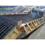 estrutura pré moldada concreto armado galpão
