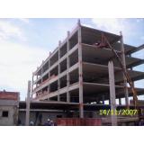estrutura pré moldada em concreto