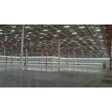 estrutura pré moldada galpão Alphaville Industrial