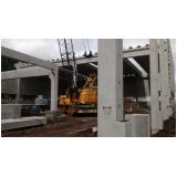 estruturas pré fabricadas para shopping Praia Grande