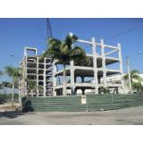 estrutura pré fabricada em concreto